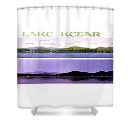 Kezar Lake View Shower Curtain
