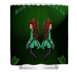 Kick Your Heels Up Shower Curtain by LeeAnn McLaneGoetz McLaneGoetzStudioLLCcom