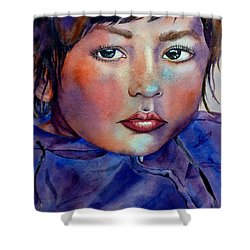 Kid Next Door Shower Curtain