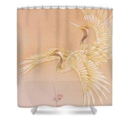 Kihaku Crop I Shower Curtain by Haruyo Morita