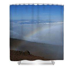 Kilakila O Haleakala Ala Hea Ka La Shower Curtain by Sharon Mau