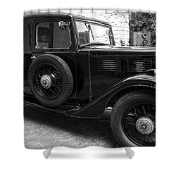 Kilbeggan Distillery's Old Car Shower Curtain