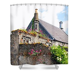 Kilkenny House Shower Curtain by Mary Carol Story