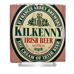 Kilkenny Irish Beer Shower Curtain