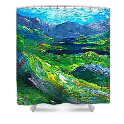 Killarney The Kingdom Of Kerry Shower Curtain