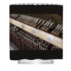 Kimball Piano-3471 Shower Curtain by Gary Gingrich Galleries