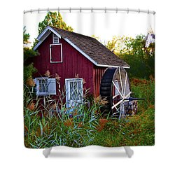 Kimberton Mill Shower Curtain by Bill Cannon