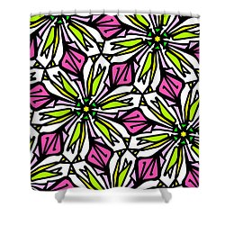Shower Curtain featuring the digital art Kind Of Cali-lily by Elizabeth McTaggart