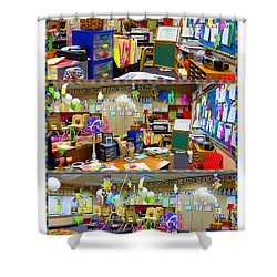 Kindergarten Classroom Shower Curtain