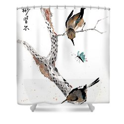 Kindred Hearts Shower Curtain