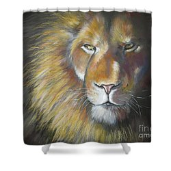 King Shower Curtain by Tamer and Cindy Elsharouni