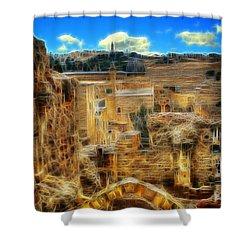 King Davids House Shower Curtain