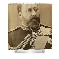 King Edward Vii  Shower Curtain by Stanislaus Walery