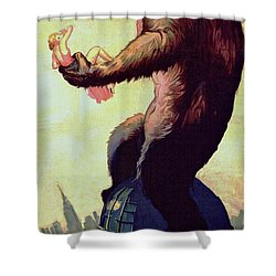 King Kong  Shower Curtain