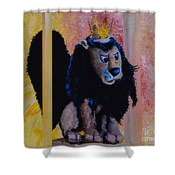 King Moonracer Shower Curtain