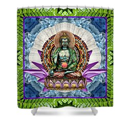 King Panacea Shower Curtain by Bell And Todd
