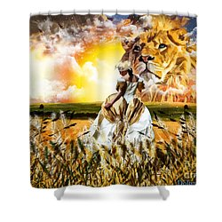Kingdom Gold Shower Curtain