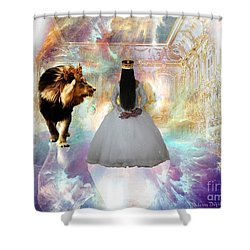 Kingdom Seer  Shower Curtain