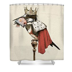 Kingfisher Shower Curtain