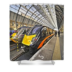 Kings Cross Variety  Shower Curtain by Rob Hawkins