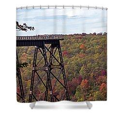 Kinzua Bridge Shower Curtain