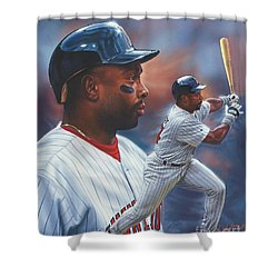 Kirby Puckett Minnesota Twins Shower Curtain