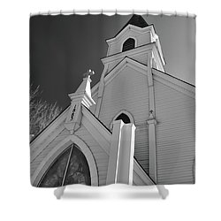 Kirche Der St Walburga Shower Curtain by Guy Whiteley