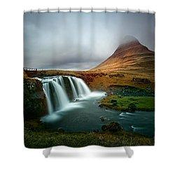 Kirkjufell Shower Curtain