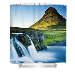 Kirkjufell Mountain Shower Curtain
