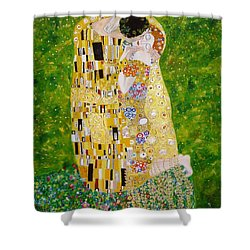 Kiss G.klimt Shower Curtain