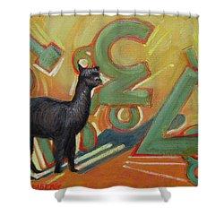 Kit Kat 123 Shower Curtain