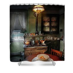 Kitchen - 1908 Kitchen Shower Curtain by Mike Savad