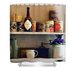 Kitchen Pantry Shower Curtain by Susan Savad