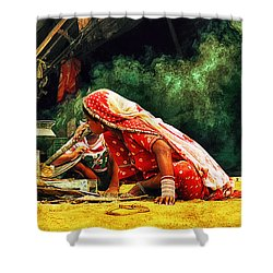 Kitchens Of India Shower Curtain