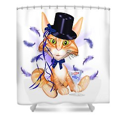 Kitticat Party Design Shower Curtain