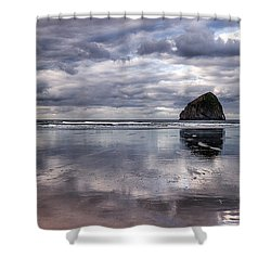 Kiwanda Clouds Shower Curtain by Darren  White