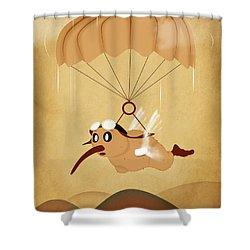 Kiwi  Shower Curtain by Mark Ashkenazi