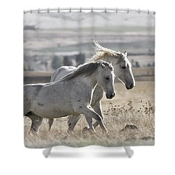 Knee Deep Shower Curtain by Wes and Dotty Weber