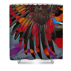 Knight Of The Sky Shower Curtain