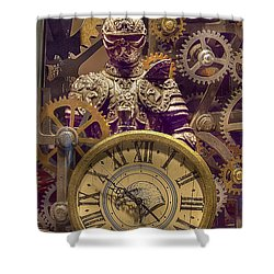 Knight Time - Chuck Staley Shower Curtain by Chuck Staley
