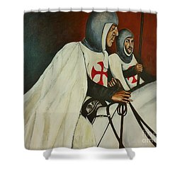 Knights Of Tomar Shower Curtain