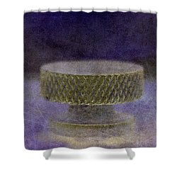 Knob 106 Shower Curtain by WB Johnston
