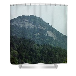Knob Shower Curtain