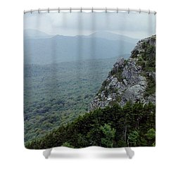 Knob On The Mountain Shower Curtain