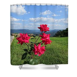 Knock Out Rose Shower Curtain