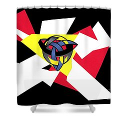 Knotted World Shower Curtain