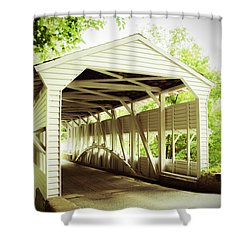 Knox Bridge Shower Curtain
