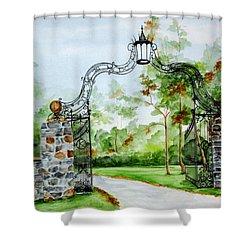 Knox Estate Shower Curtain by Ellen Canfield