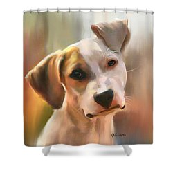 Koa Shower Curtain