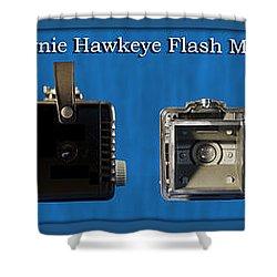 Kodak Brownie Hawkeye Camera Shower Curtain by Thomas Woolworth